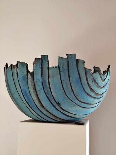Schaal-van-stroken-klei - Ceramics and Pottery Arts and Resources