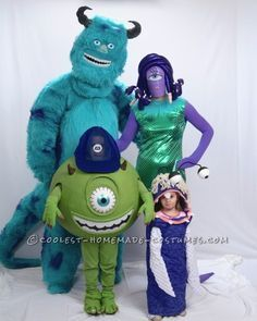 I got the idea to do Monsters Inc when my 2 year old daughter was screaming and I found myself wondering if the lights were going to start flickering....