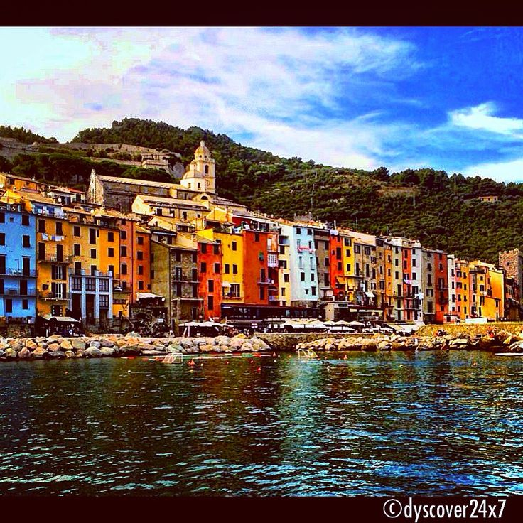 Colors by the Sea - Portovenere, Italy