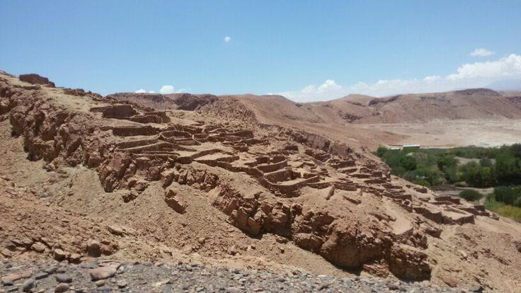 Pukara de Quitor, San Pedro de Atacama, II región de Chile