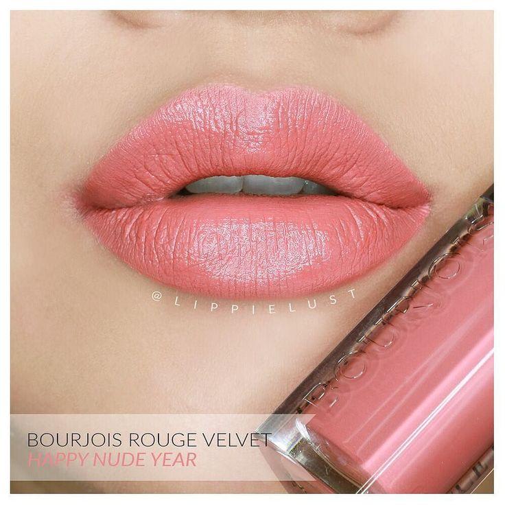Bourjois Rouge Velvet Edition No. 9: Happy Nude Year.