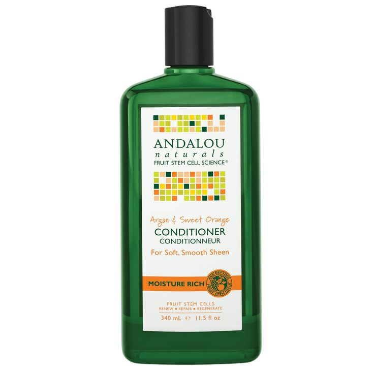 Andalou Naturals Argan & Sweet Orange Moisture Rich Stem Cells Conditioner