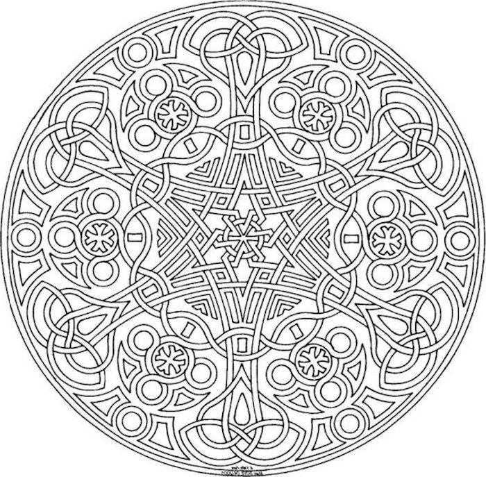 1001 Coole Mandalas Zum Ausdrucken Und Ausmalen Geometrische Malvorlagen Mandala Malvorlagen Ausmalbilder