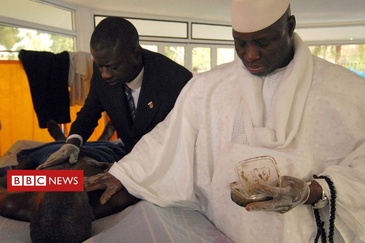 Lamin Ceesay was lucky to survive when the Gambian president took away his drugs and tried to cure him with a paste of herbs. An unknown number died.