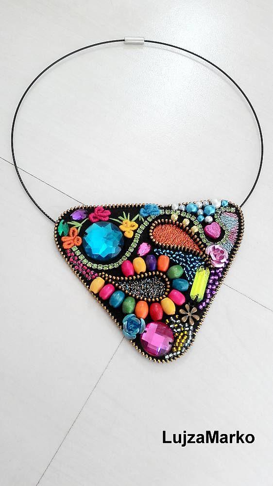 Náhrdelníky - Gypsy náhrdelník - 5718684_