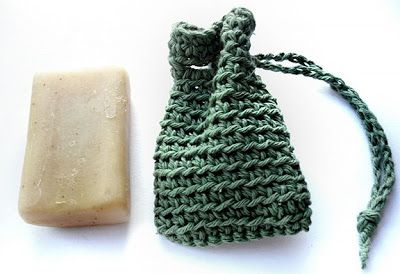 The Adventures of Cassie: Cassiemarie's Crocheted Soap Saver - Free Pattern