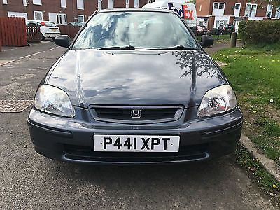 eBay: Honda Civic 1.5l LS Automatic, 3Door, Petrol, Grey, 1996 - Repair or Parts #carparts #carrepair