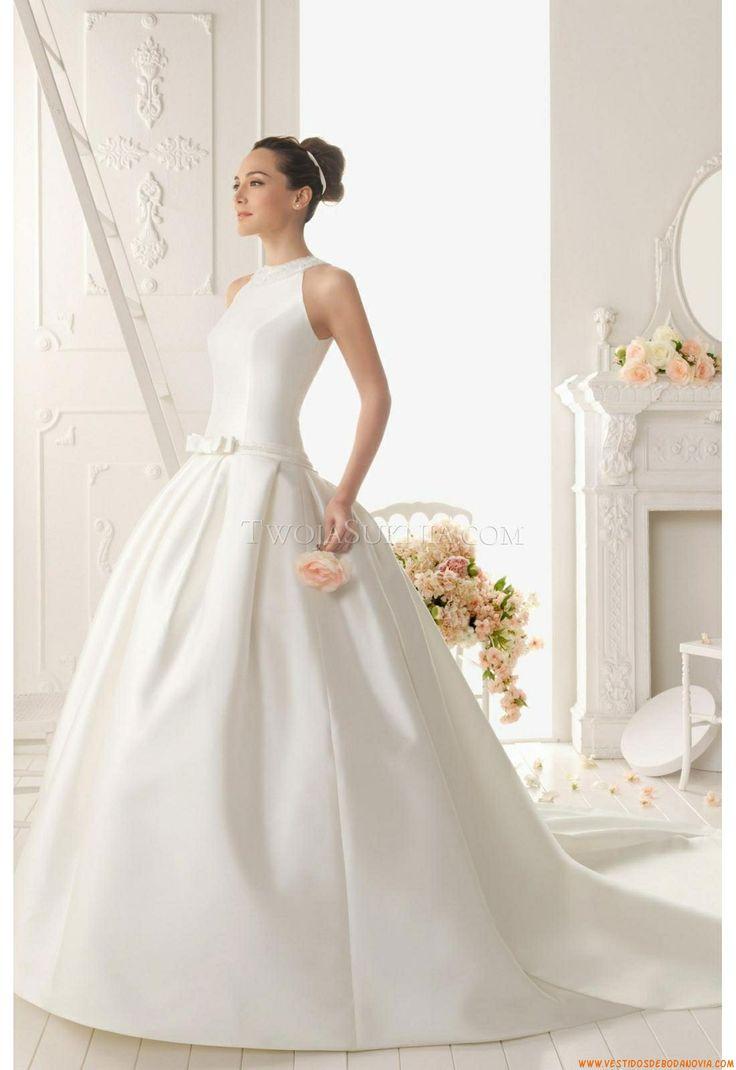 Vestido de novia Aire Barcelona 2a4 Riany 2013