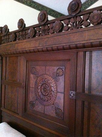 eastlake marble top bedroom set broyhill oak
