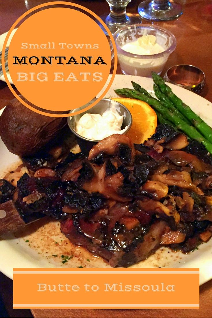 From Butte to Missoula: A culinary road trip enjoying traditional and innovative Montana cuisine and spirits. @glaciermt