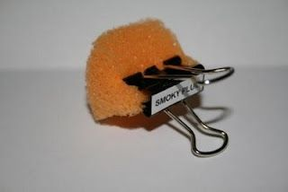 This little tip is fantastic for so many uses.  Even good for sealing those envelopes; sponge painting; distressing; etc.