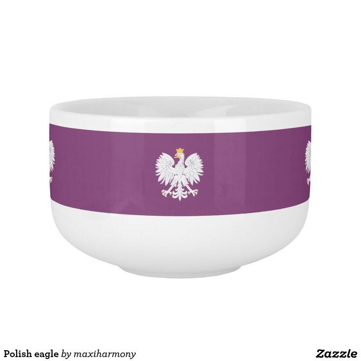 Polish eagle soup mug