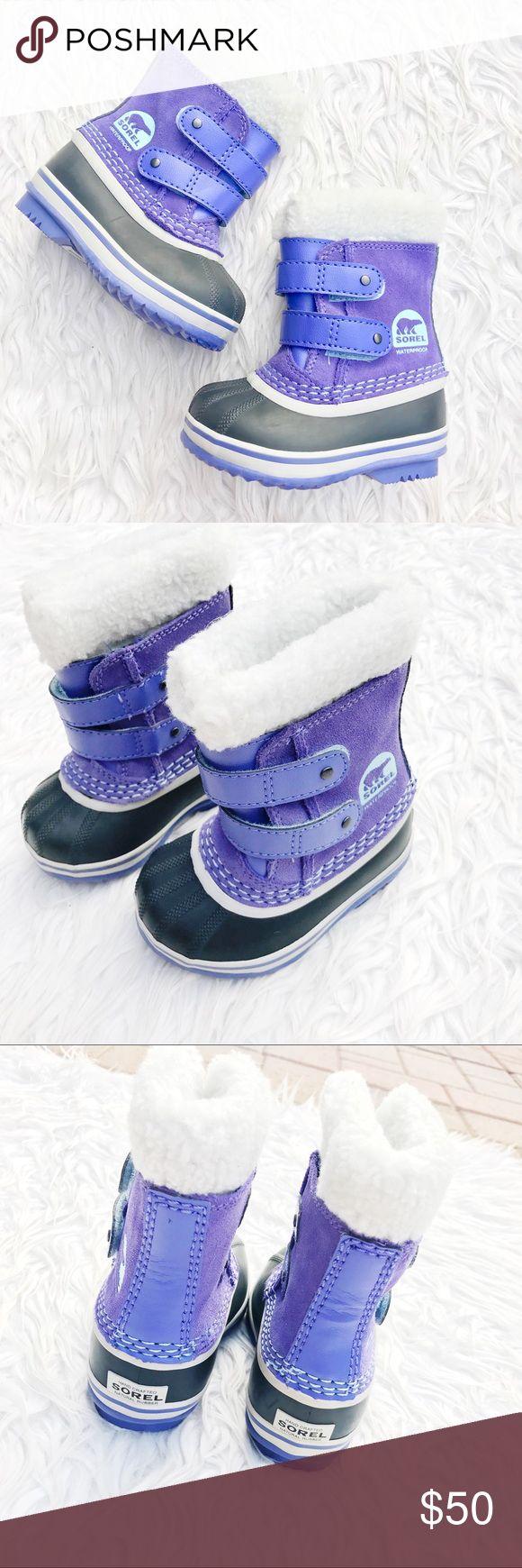 • Sorel • Toddler Snow Boots Waterproof bottoms! Sorel Shoes Rain & Snow Boots