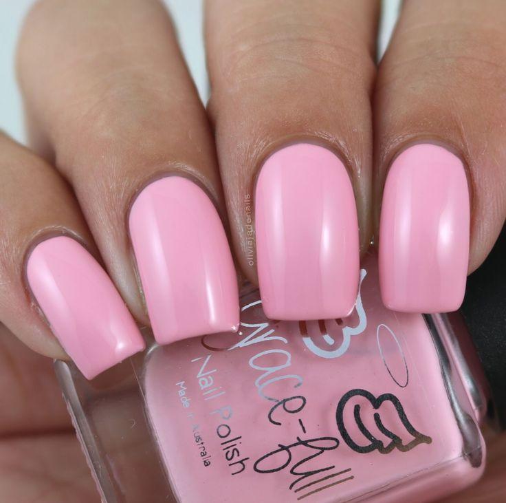 Grace-full Nail Polish Peony Bloom swatched by Olivia Jade Nails