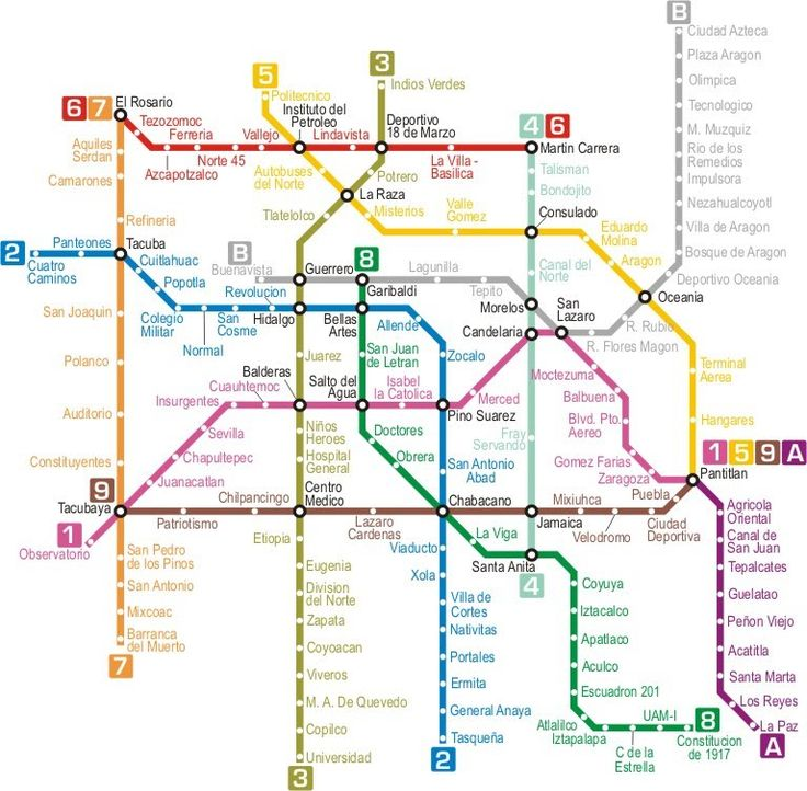 Metro y Trenes - Ciudad de México   Guía del DF: Los Mejores Restaurantes, Bares y Antros del Distrito Federal   Best of Mexico City