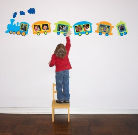 Amazon.com: Butch & Harold Sticker Train Frame, Pack of 8 sticker picture frames: Home & Kitchen