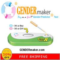 Check out: GENDERmaker Boy or Girl gender predictor test. Today is 30% off, free shipping plus a gift