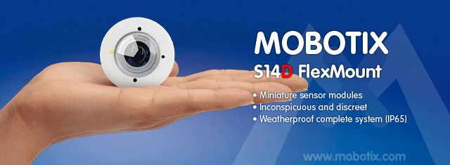 Mobotix S14 offered by EyeNet Surveillance in Canada!