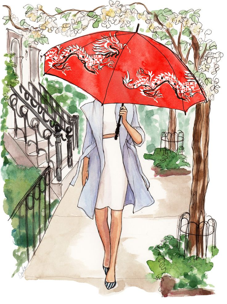 April Calendar Girl 2015: A story blooms in the west village | Inslee By Design {story]