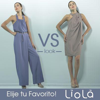 Nueva colección Liola.  ¿Cómo partirías la semana?