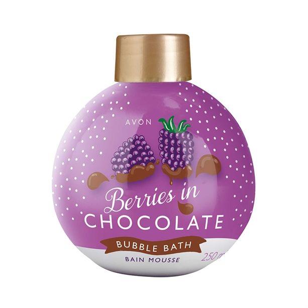 Csokis szeder habfürdő