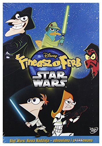Phineas  Ferb Star Wars DVD English audio English subtitles >>> Check this awesome product by going to the link at the image.