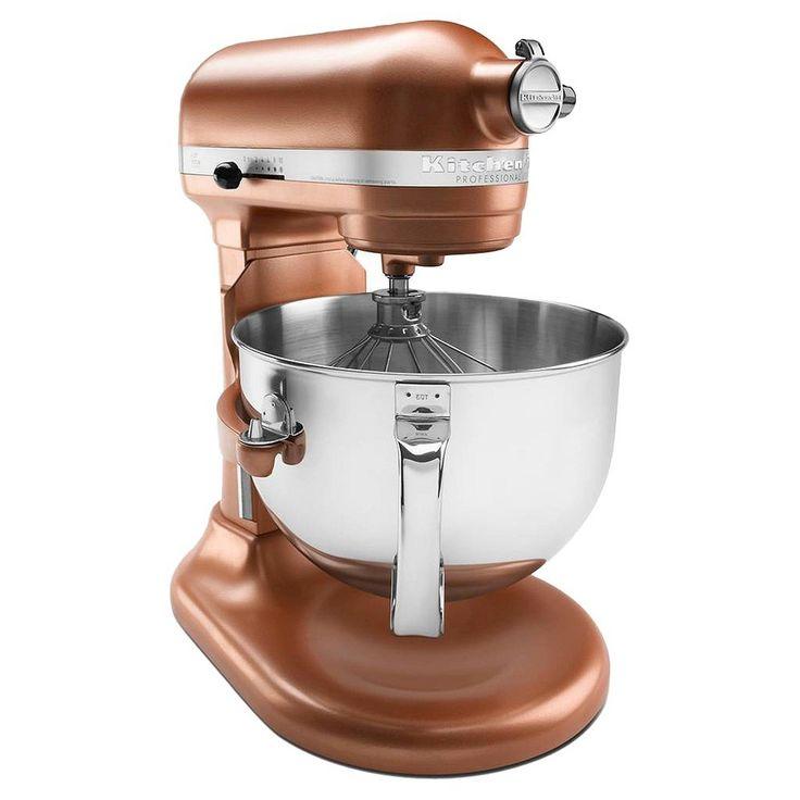 KitchenAid Professional 600 Series 6 Quart Bowl Lift Stand Mixer   KP26M1X,  Brown