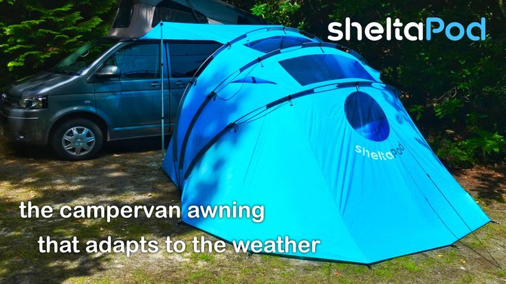 The campervan awning that adapts to the weather. Unique and stylish design…