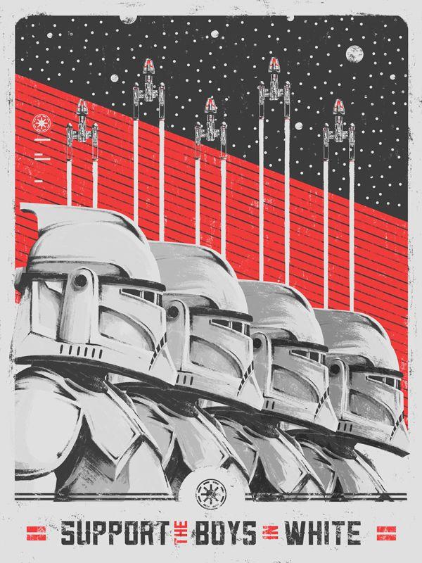 Star Wars Propaganda - Created by Marie Bergeron