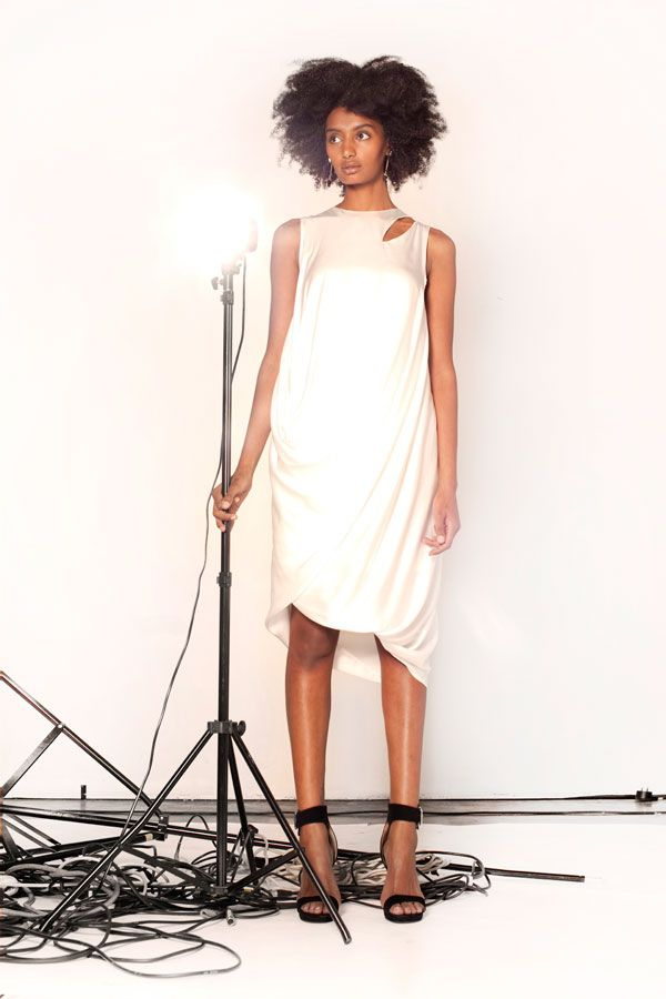 Lisa Brown Designs Winter Collection 2015.  Tornado Winter White Asymmetrical Drape Dress.  Follow us on FB and IG http://www.facebook.com.au/bylisabrown http://www.instagram.com/lisabrowndesigns and online at http://www.lisa-brown.com.au   #lisabrowndesigns #fashion #style #winter #styled #beautiful #australia #model