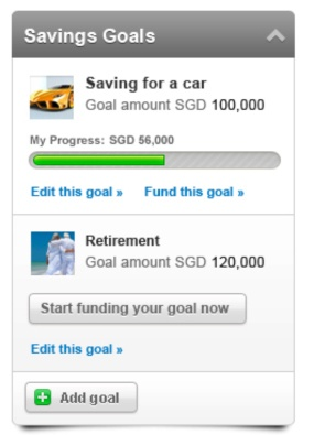 FRANK by OCBC - Savings Goals