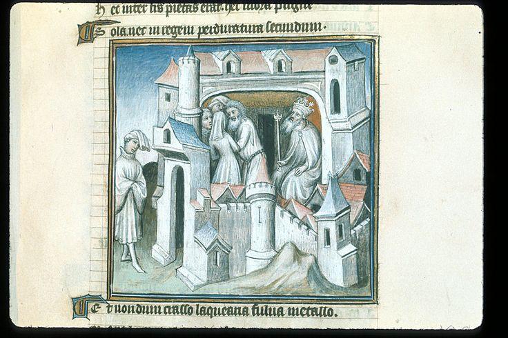 Publius Papinius Statius Thebais , with the argumenta antiqua; Achilleis, Francja, ok. 1405