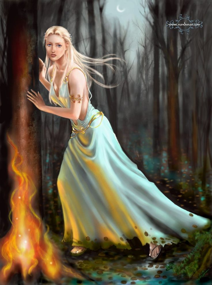 Artemis (Diana of the Romans) - goddess of the hunt and