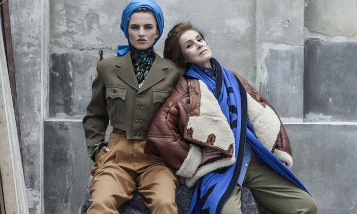 Bet Orten nafotila se seniory kolekci Slow Up módy