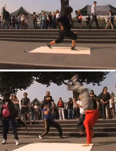 Flashmob for Pregnant Women Breakdancing in London
