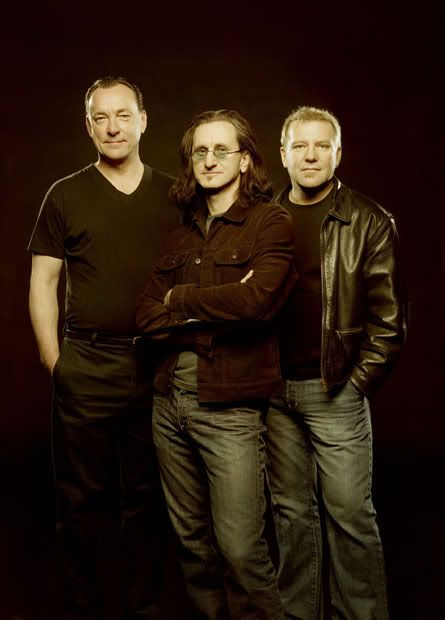 Neil Peart, Alex Lifeson and Geddy Lee (RUSH)... Congrats on making it to the R & R Hall of Fame, even though you were already there for your true fans!