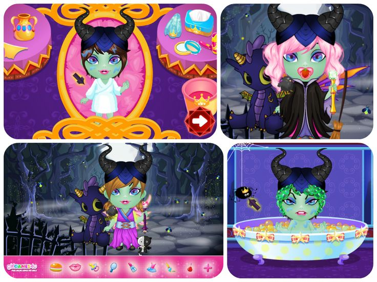 Hello #girls! Are you ready for some awesome #fun with the cutest #evil #fairy? ***  #Gameoftheday: http://www.girlgames4u.com/fairytale-baby-_u_-evil-fairy-game.html ✿ ✿ ✿