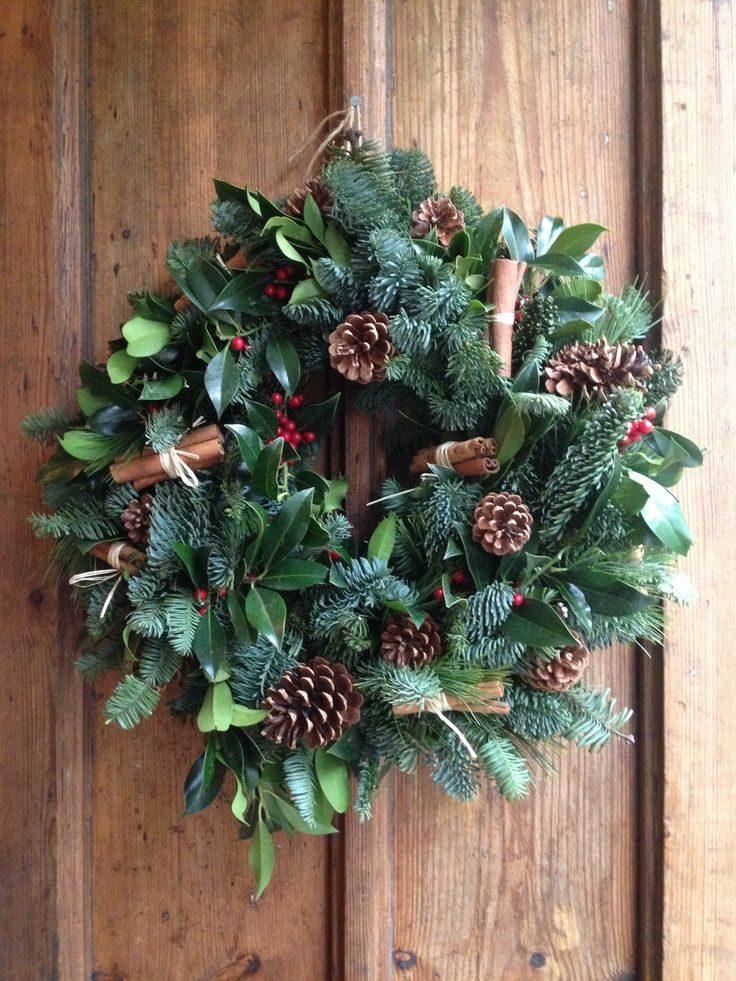 Christmas wreath wreathes pinterest navidad ideas - Ideas de arreglos navidenos ...