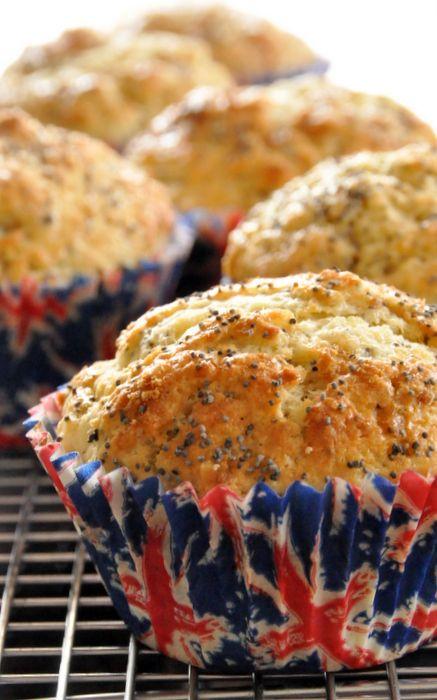 Muffins citron pavot lait ribot deux