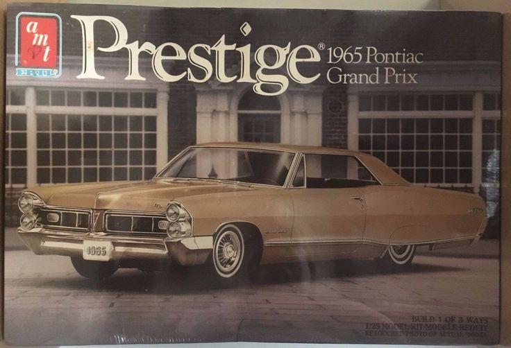 Vintage AMT Prestige 1965 Pontiac Grand Prix 1/25 Model Kit Sealed 6873