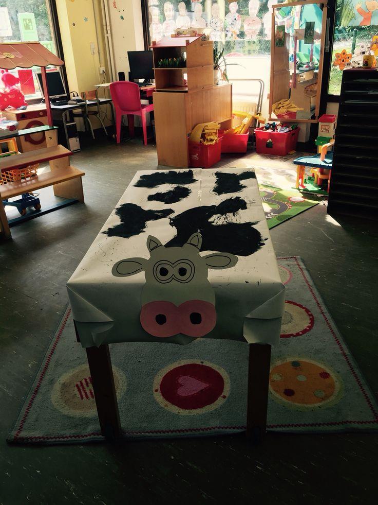 Onze eigen koe in de klas