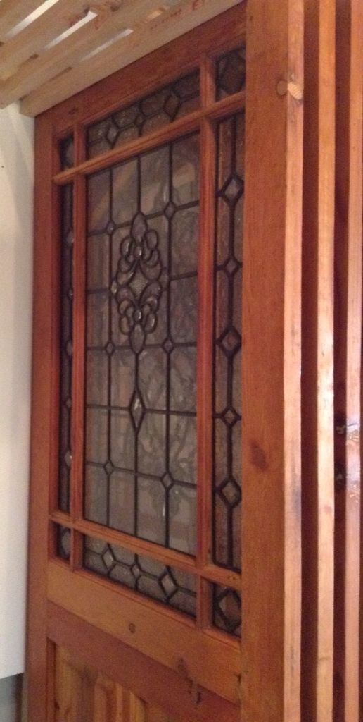 Stunning new happy doors with new glass.