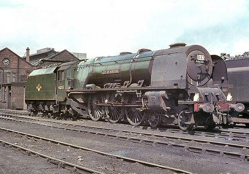 46255 'City of Hereford'. Carlisle (Kingmoor). 12 July 196… | Flickr