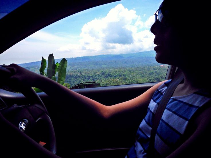 The driver (my BF)