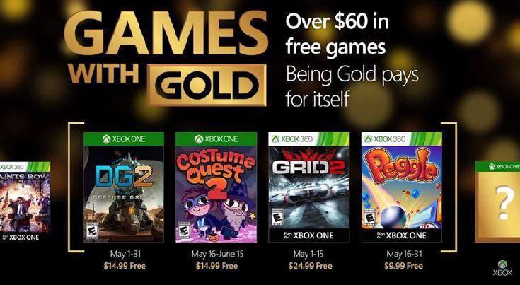 Juegos Xbox Live con suscripción Gold para Mayo 2016