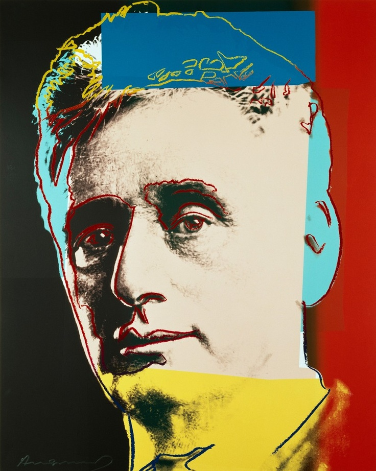 """Louis Brandeis (2 of 10 from """"Ten Portraits of Jews of the Twentieth Century""""), by Andy Warhol"""