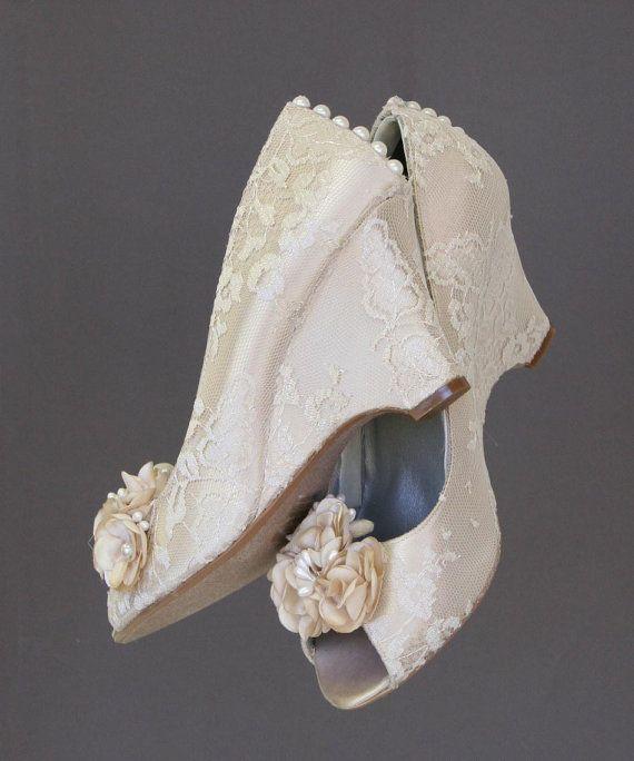 wedding shoes wedding wedges ivory wedding shoes ivory lace wedge shoes ivory pearls lace wedding accessories wedge wedding shoes
