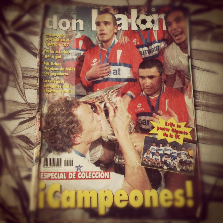 Portada Don Balon Catolica Campeon 1997 #LosCruzados