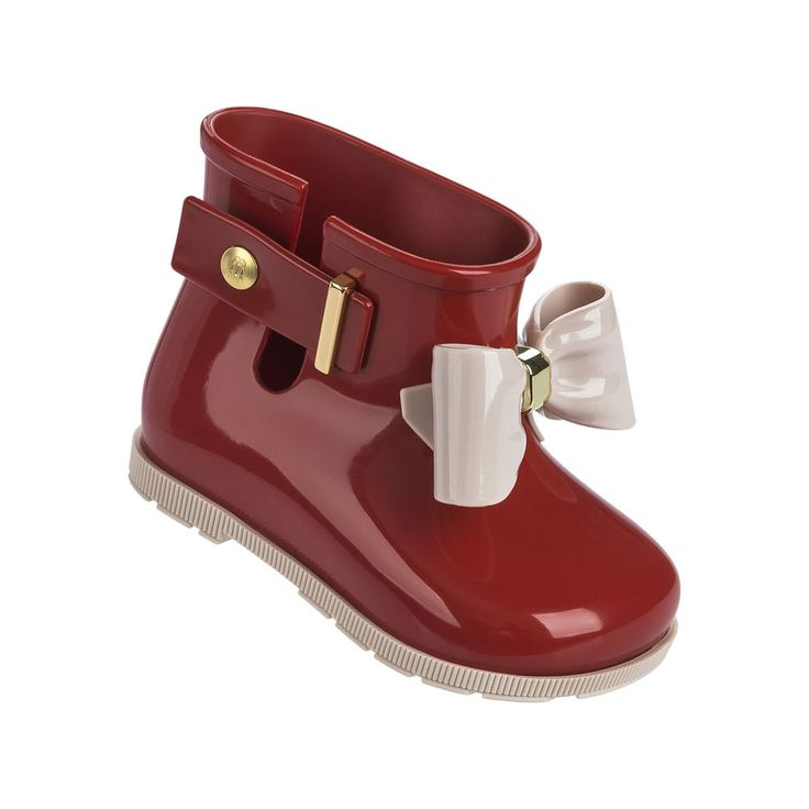 Mini Melissa Bow Rain Boots 2017 Jelly Boots Water Shoes Melissa Cute Bow Princess Child Jelly Rain Boots High Quality EUR 24-29 #Affiliate