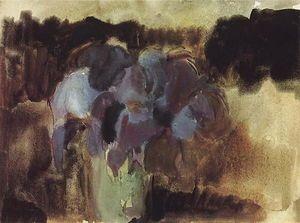 Irises - (Martiros Saryan)